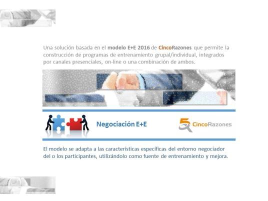 Negociación E+E 1